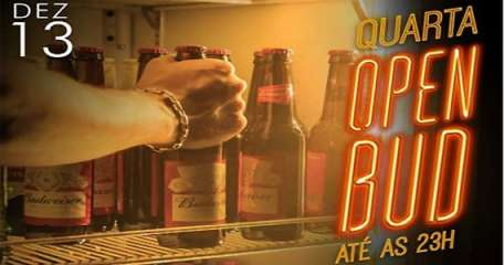 Quartas de Boteco com Open Bar de Budweiser no The Sailor Pub ao som de Acústico Duoderiz