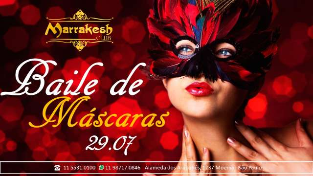 Baile de Máscara com muito swing e erotismo no Marrakesh Club ce53cc90ee8