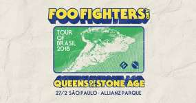 Eventos BaresSP Foo Fighters e Queens of the Stone Age voltam ao Brasil e se apresentam no Allianz Parque