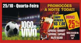 BaresSP Happy hour com futebol na TV no Republic Pub