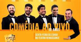 BaresSP Stand-Up do Comédia Ao Vivo no Teatro Renaissance