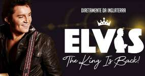Eventos BaresSP Tributo a Elvis Presley The King Is Back desembarca no Teatro Bradesco
