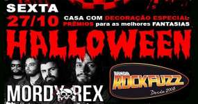 BaresSP Vem aí a tradicional Halloween Rock n Roll no Rock Club