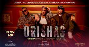Eventos BaresSP Grupo cubano Orishas apresentam a turnê World Reunion Tourna na Audio