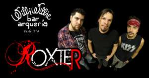 BaresSP Banda Roxter se apresenta no palco do Willi Willie Bar e Arqueria