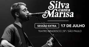 Silva homenageia Marisa Monte com shows