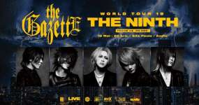 Eventos BaresSP Banda de rock japonesa, The Gazette, realiza show na Audio