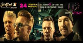 BaresSP Tributo ao U2 com a banda Ultra Violet BR no The Lord Black